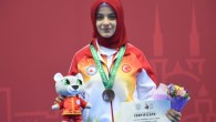 Zeynep Makbule Akyüz'den, bronz madalya