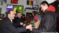 Belçikalılardan Türk camisine anlamlı ziyaret