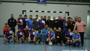 Futsalda Brüksel derbisi AS SNOB Schaerbeek'in