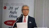 TÖSED'in kurucu başkanı Tümbaş'tan medyaya teşekkür