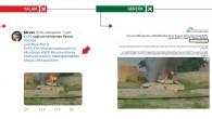 PYD/PKK destekçileri Afrin yalanlarında montaj yaptı