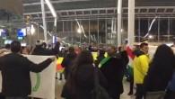 Hollanda'da PYD/PKK yandaşları tren istasyonunu işgal etti