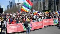 Brüksel'de ırkçılığa karşı yürüdüler