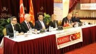 Üsküp'te Makedon-Türk ikili ekonomik ilişkileri görüşüldü