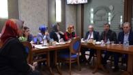 KPK Heyeti, UETD Kadın Kolları'nın konuğu oldu