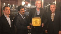Macar Başkan Fahri Konsolos Osman Şahbaz'ın misafiri oldu