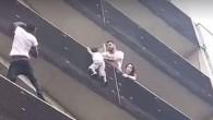 Balkondan sarkan çocuğu kurtaran göçmene vatandaşlık verilecek
