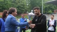 """Spor ve Gençlik futbol turnuvasının şampiyonu """"La Couronne"""""""