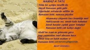 """Namaza Tatil"""