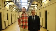 Milletvekili Yüksel Gent cezaevini ziyaret etti