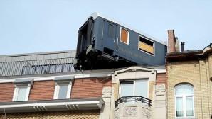 Brüksel'de tren tutkunlarına nostaljik otel