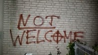 Almanya'da camiye gamalı haçlı saldırı