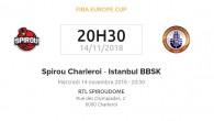 İstanbul Büyükşehir Belediyespor, Spirou Basket'e konuk oluyor