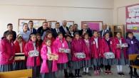 Avrupalı Kayserililer bin 800 çocuğun yüreğini ısıtacak