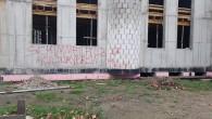 Almanya'da camiye boyalı saldırı