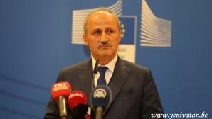 Ulaştırma ve Altyapı Bakanı Turhan Brüksel'de