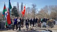 Hollanda'da Hocalı katliamı kurbanları anıldı