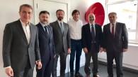 BTSTK'den Başkan Di Rupo'ya ve Emir Kır'a ziyaret