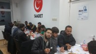 Saadet Belçika geleneksel mülteci iftarını düzenlendi