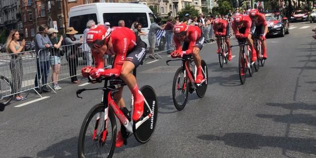 Fransa Bisiklet Turu Brüksel etabı tamamlandı