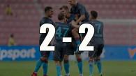Trabzonspor, Sparta Prag'la berabere kaldı