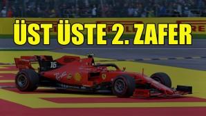 Leclerc'ten üst üste 2. zafer