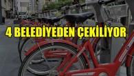 Uber, bisiklet filosunu Brüksel'in 4 belediyesinden çekiyor