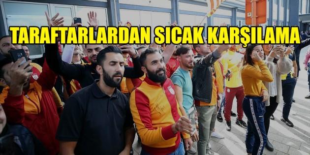 Galatasaray'a Belçika'da sıcak karşılama
