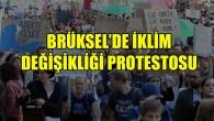 Brüksel'de iklim değişikliği protestoları tekrar başladı