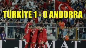 Türkiye, Andorra'yı mağlup etti