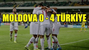 Milli Takım, Moldova engelini 4 golle aştı