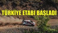 Dünya Ralli Şampiyonası'nın Türkiye etabı başladı