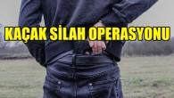 Ülke genelinde kaçak silah operasyonu