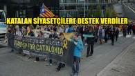 Brüksel'de Katalan siyasetçilere verilen cezalar protesto edildi