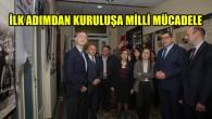 """""""İlk Adımdan Kuruluşa Milli Mücadele"""" sergisi Brüksel'de açıldı"""