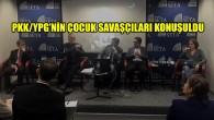 """Brüksel'de """"PKK/YPG'nin Çocuk Savaşçıları"""" paneli düzenlendi"""