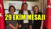Türk Dili Enstitüsü, Eğitim ve Araştırma Merkezi'nden 29 Ekim mesajı