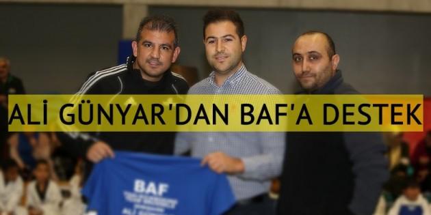 Dünya şampiyonu Ali Günyar'dan BAF'ın öğrencilerine staj