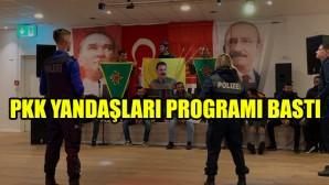 CHP'nin İsviçre'deki programını PKK yandaşları bastı