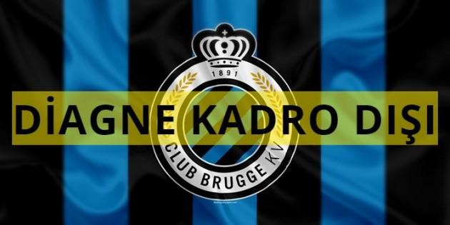 Club Brugge'de Mbaye Diagne kadro dışı kaldı