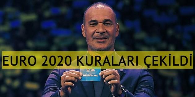 EURO 2020 kuraları çekildi