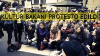 Kültür Bakanı Jan Jambon'a Brüksel'de protesto