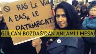 """Gülcan Bozdağ'dan """"kadına yönelik şiddet"""" mesajı"""
