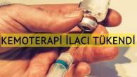 Belçika hastanelerinde kanser ilacı tükendi