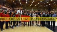 Pınar Karşıyaka, Phoenix Brüksel'i Belçika'da yendi