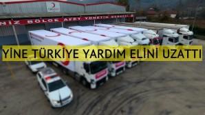Türk Kızılay Bosna Hersek'teki göçmenlere yardım gönderdi