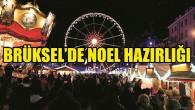 Brüksel'de Noel hazırlığı