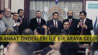 AK Parti'li Cevdet Yılmaz, kanaat önderleri ile bir araya geldi