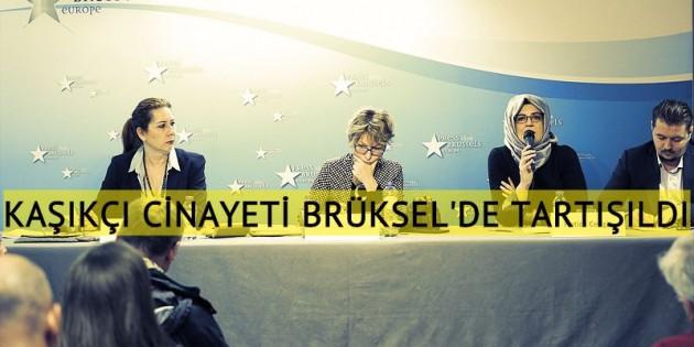 Cemal Kaşıkçı cinayeti Brüksel'de tartışıldı