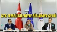 Ticaret Bakanı Pekcan Brüksel'de STK temsilcileriyle bir araya geldi